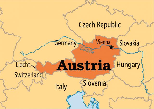 الدول المجاوره للنمسا